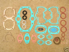 Gasket Set,Triumph Pre Unit,T110/TR6 Alloy Head,1956-62, UK Made.